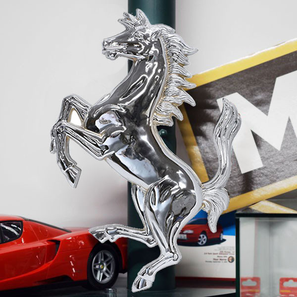 Ferrari Cavallino Object(Chrome/Small)