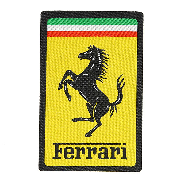 Ferrari Emblem Shaped Patch