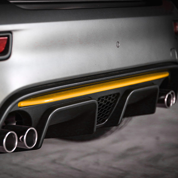 ABARTH 595/695(2016~Sr.4)Rear Bumper Insert(Yellow)<br><font size=-1 color=red>03/02到着</font>