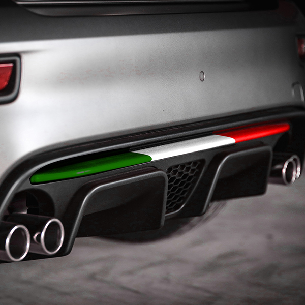 ABARTH 595/695(2016~Sr.4)Rear Bumper Insert(Tricolor)<br><font size=-1 color=red>03/02到着</font>