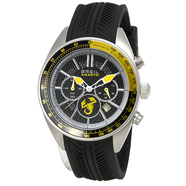 ABARTH Chronograph Watch(TW1694/Yellow) by BREIL