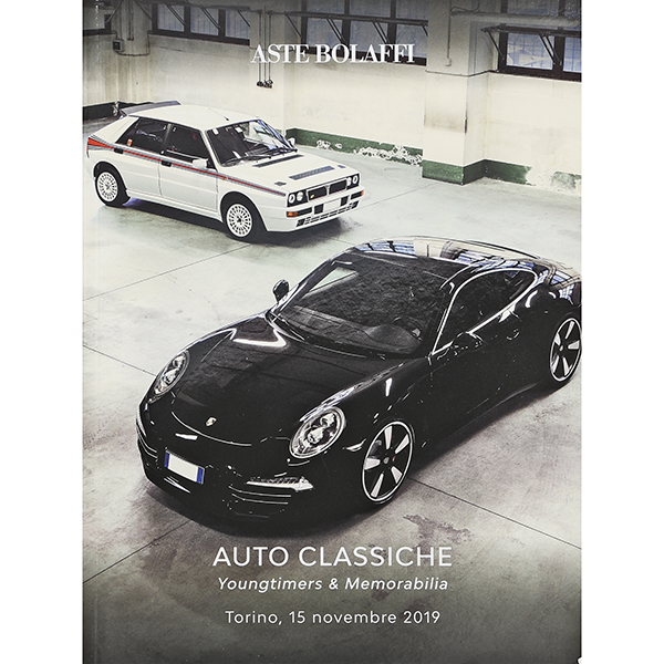 AUTO CLASSICHE Auctions Catalogue 2019,Nov