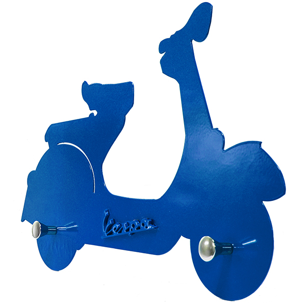 Vespa Official Wall hanger(Blue)