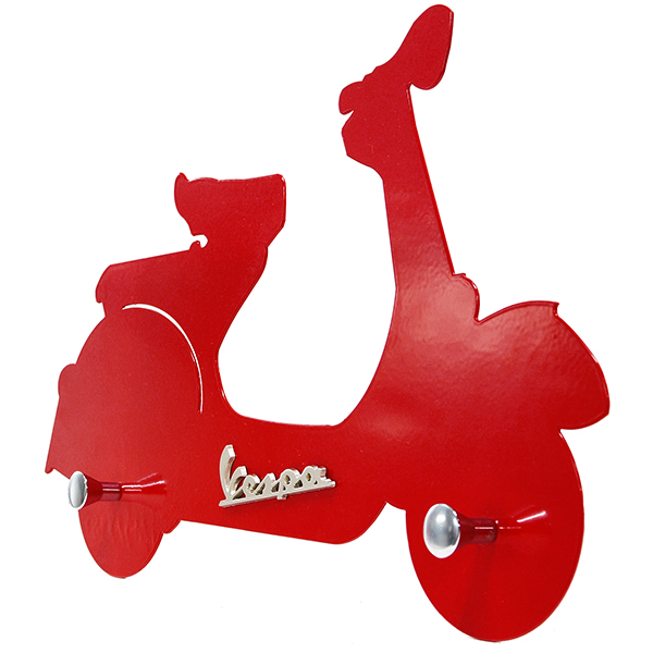 Vespa Official Wall hanger(Red)