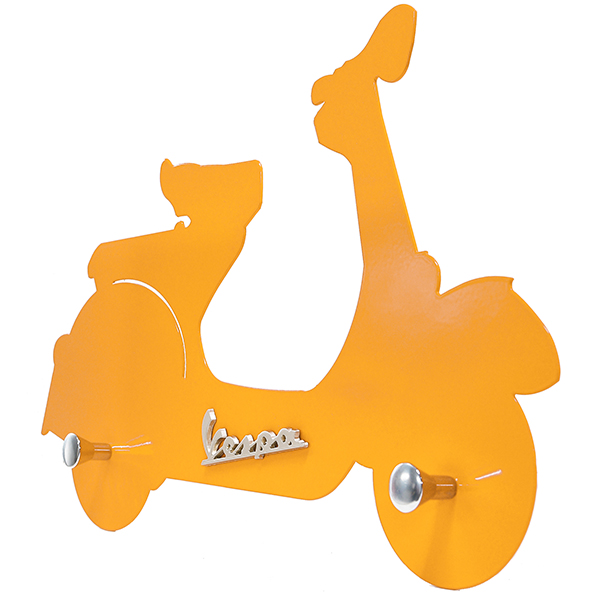 Vespa Official Wall hanger(Yellow)