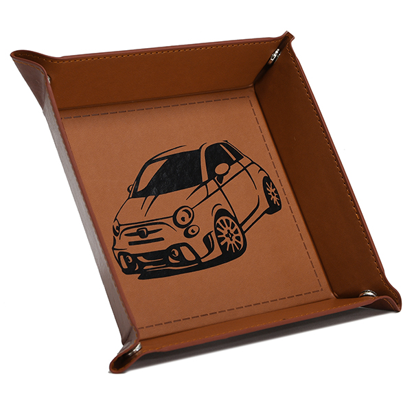 ABARTH Fake Leather Tray