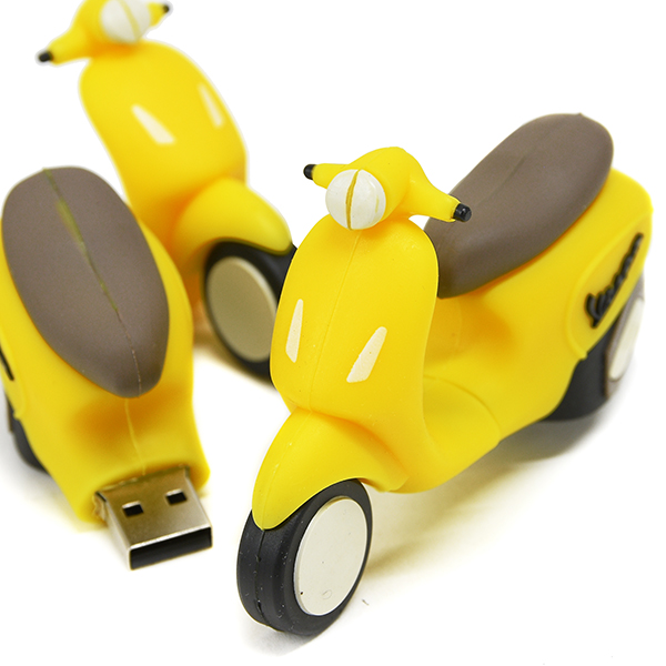 Vespa Official USB Memori(8GB/Yellow)