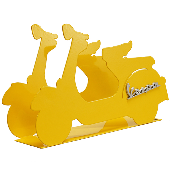 Vespa Official Letter Rack(Yellow)