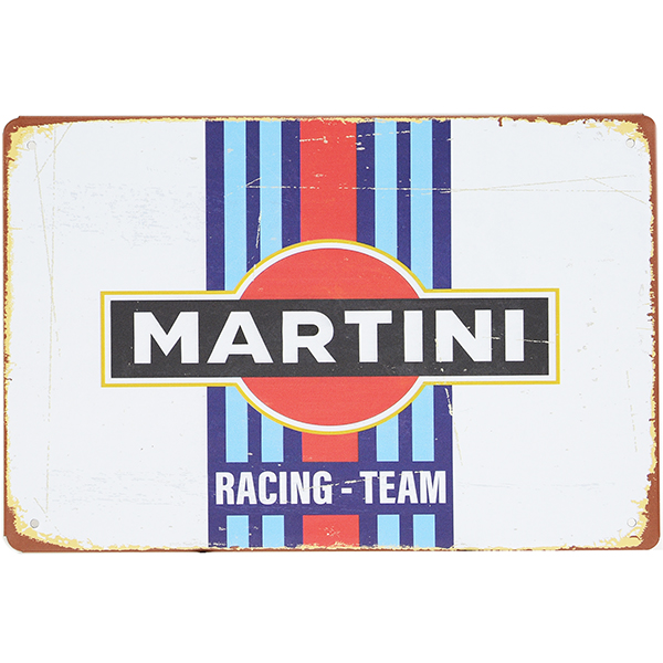 MARTINI RACING Vintage Sign Boad