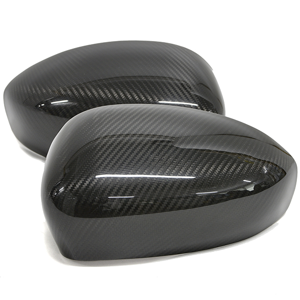 FIAT/ABARTH 500/595/695 Real Carbon Mirror Cover Set by OMTEC