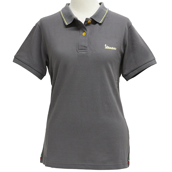 Vespa Official Polo Shirts-GRAPHIC-for Women