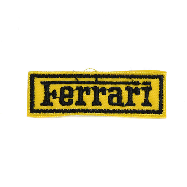 Ferrari Logo Patch  (65mm*21mm)