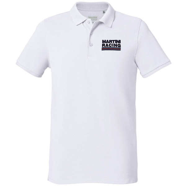 MARTINI RACING Polo Shirts-Sportline-(White)