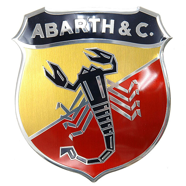 ABARTH 695 70th Anniversary Front  Emblem<br><font size=-1 color=red>03/04到着</font>