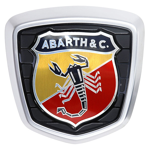 ABARTH 695 70th Anniversary Rear Emblem<br><font size=-1 color=red>03/04到着</font>