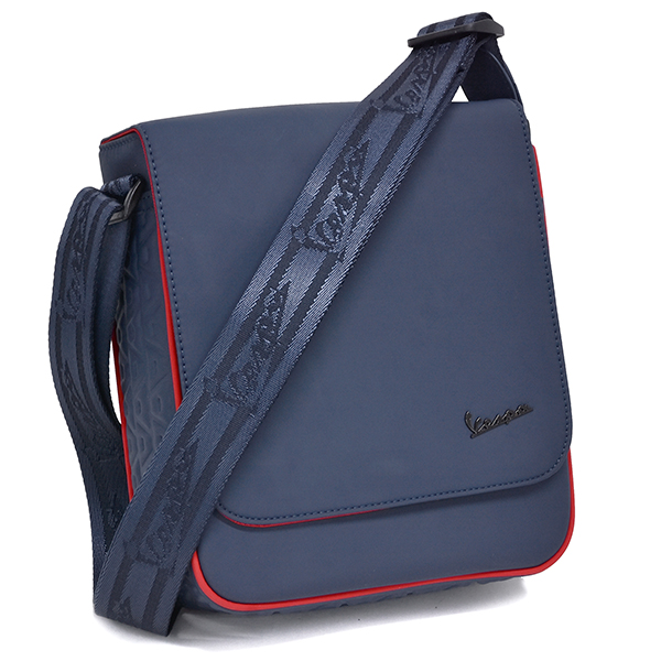 Vespa Official Rubber coating Schoulder Bag(Navy)