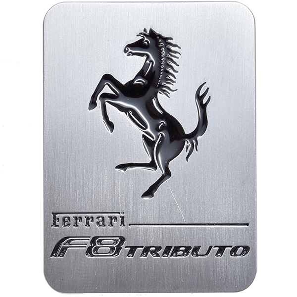 Ferrari F8 Tributo Engine Room Plate