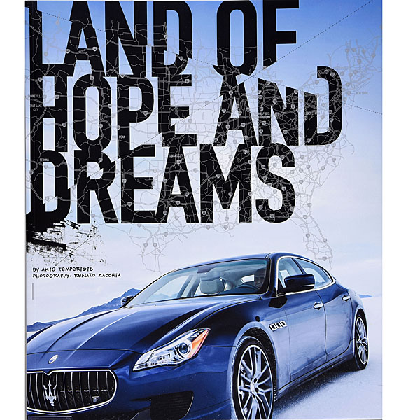 MASERATIオフィシャルブック-LAND OF HOPE AND DREAMS-