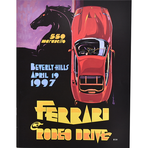 FERRARI at RODEO DRIVE -BEVERLY HILLS ALRIL 19 1997- パンフレット