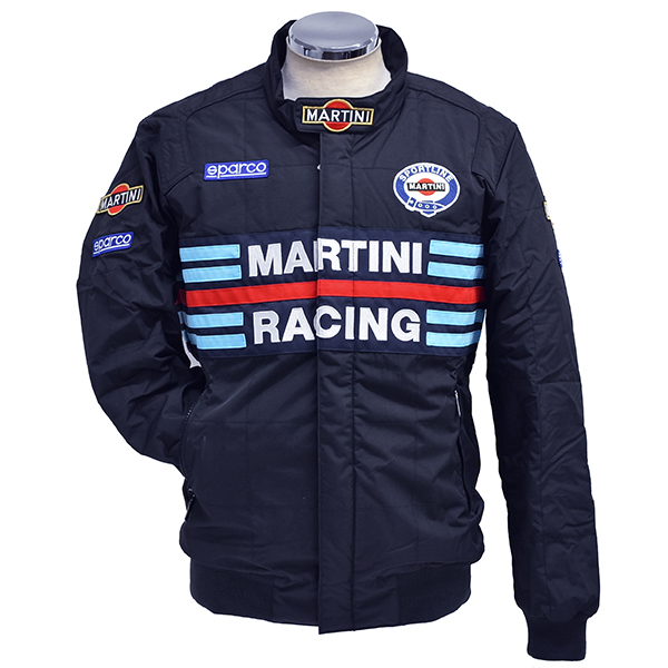 MARTINI RACING Official Bomber Jacket by Sparco(Navy)<br><font size=-1 color=red>03/01到着</font>