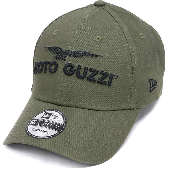 Moto Guzzi Official Baseball Cap-2021-(khaki) by NEW ERA
