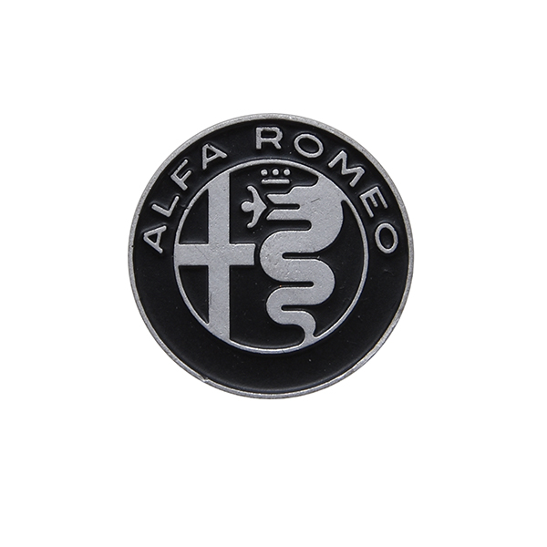 Alfa Romeo New Emblem Pin Badge(Mono tone)Type2