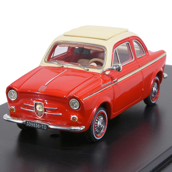 1/43 FIAT500 NSU Weinsberg Miniature Model-1960-(Red)