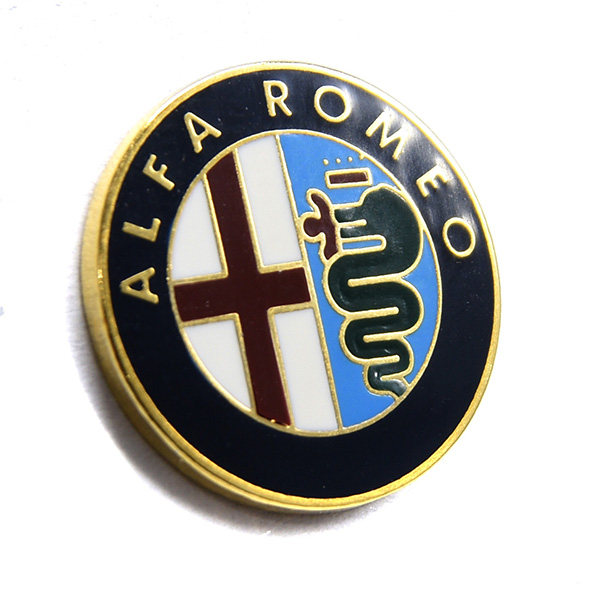 Alfa Romeo Emblem Pin Badge