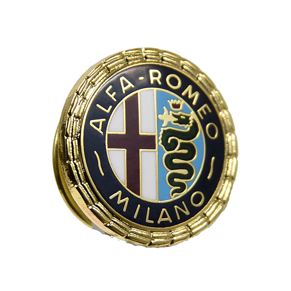 Alfa Romeo Milano Emblem Pin Badge