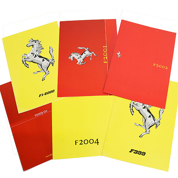 Scuderia Ferrari 1999-2004 Press Card Set