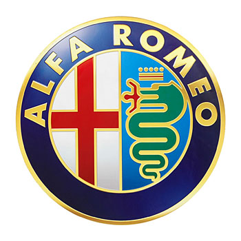Alfa Romeo Emblem Sticker(300mm)