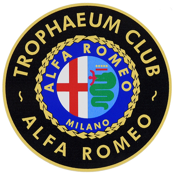 Alfa Romeo Trophaeum Club Sticker