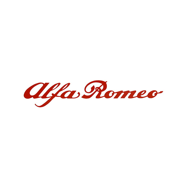 Alfa Romeo Logo Sticker(100mm)