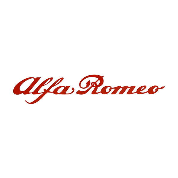 Alfa Romeo Logo Sticker(200mm)