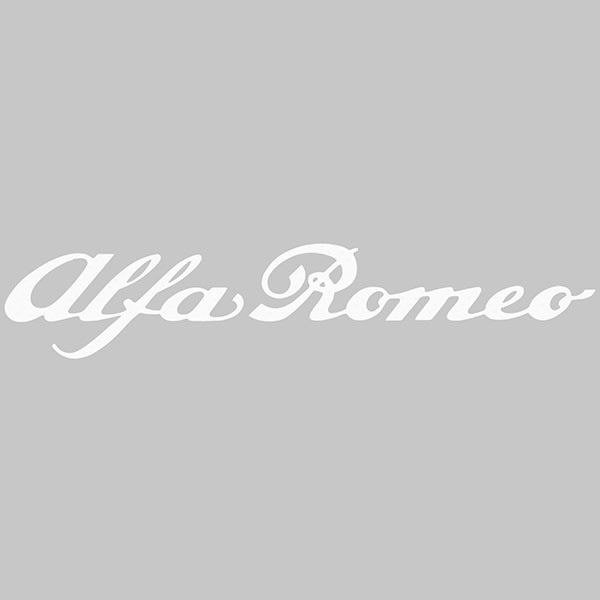 Alfa Romeo Logo Sticker (450mm)