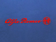 Alfa Romeo Logo & Emblem Sticker (100mm)