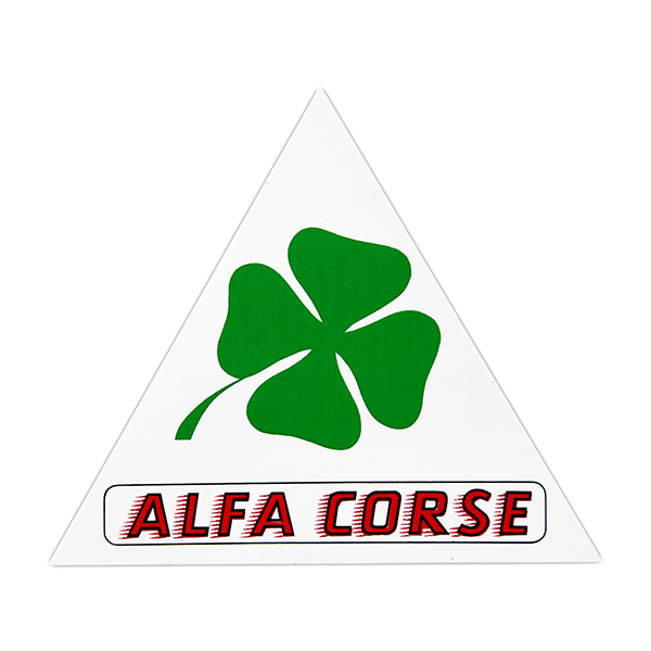 Alfa Corse Sticker (Triangle/S)