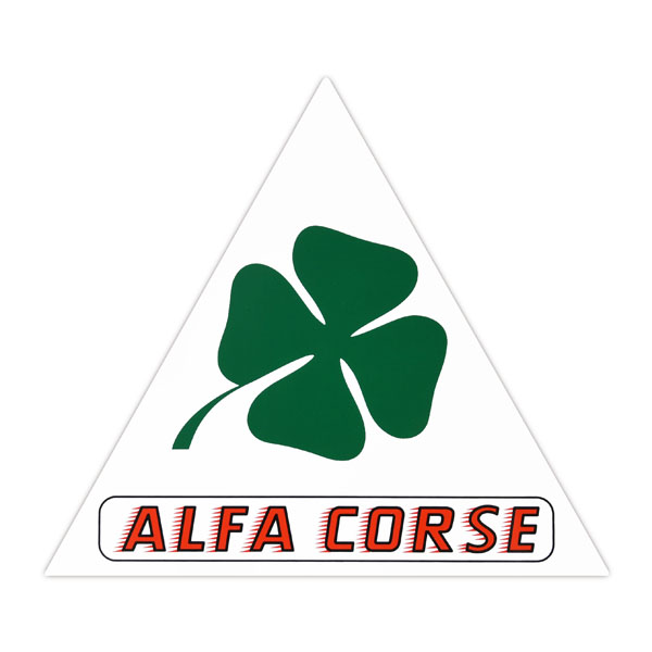 Alfa Corse Sticker (Triangle/M)