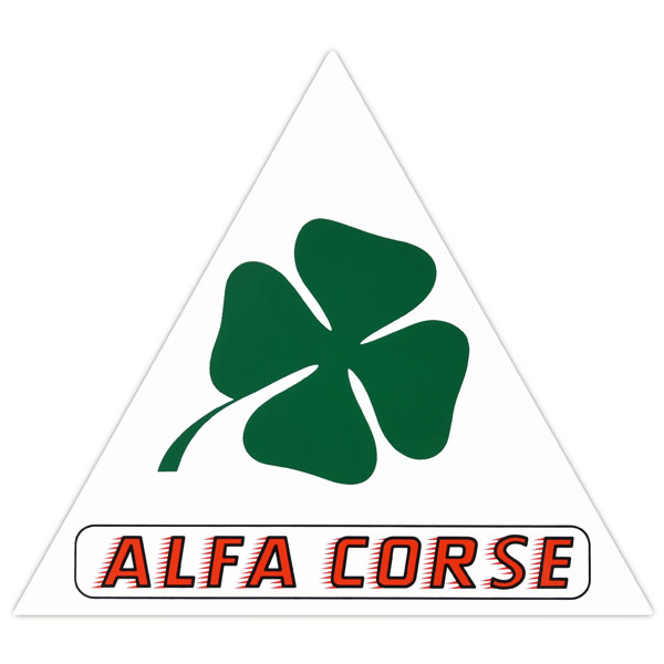 Alfa Corse Sticker (Triangle/L)