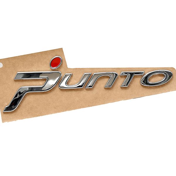 FIAT純正Grande Punto用ロゴエンブレム<br><font size=-1 color=red>03/17到着</font>