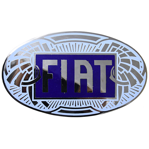 FIAT Old Emblem (Cloisonne/Chrome) <br><font size=-1 color=red>02/14到着</font>