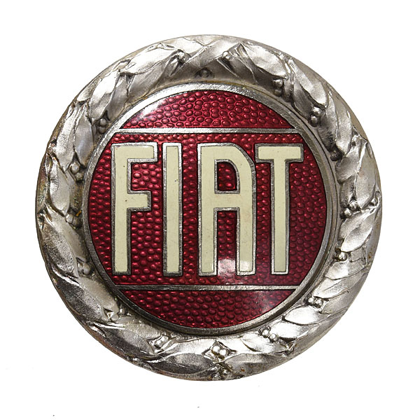 FIAT Old Emblem (Cloisonne/Red)