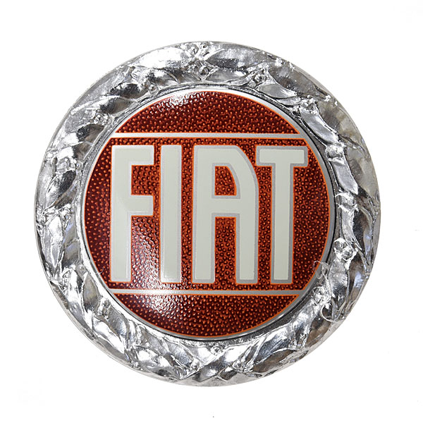 FIAT純正 Oldラウンドエンブレム(72mm)<br><font size=-1 color=red>10/06到着</font>