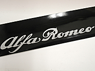 Alfa Romeo Long Sticker for Windowshield