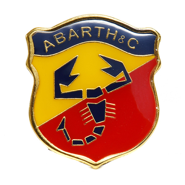 ABARTH&amp;Cエンブレム(Medium)<br><font size=-1 color=red>03/10到着</font>
