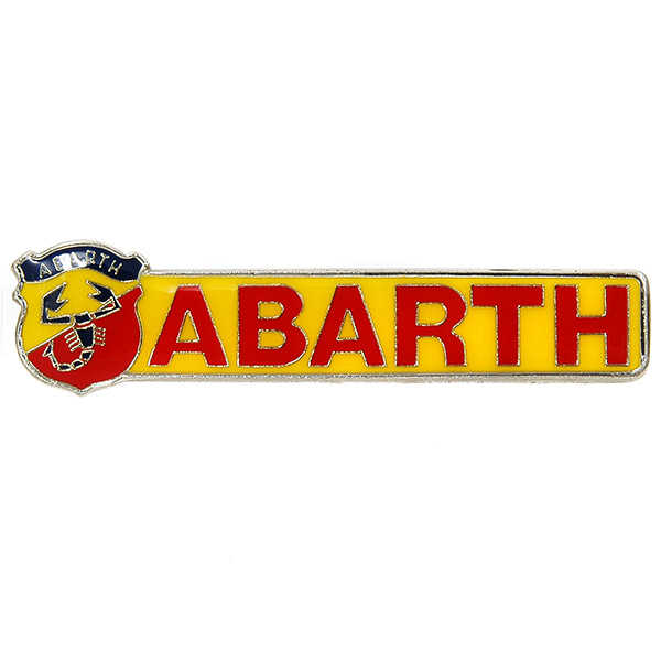 ABARTH Emblem&Script Badge