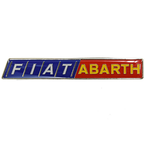 FIAT ABARTH Script Badge<br><font size=-1 color=red>12/25到着</font>