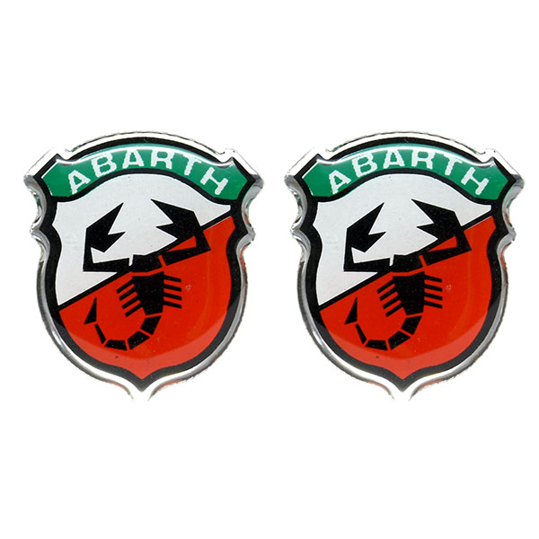 ABARTH&C 3D Emblem Sticker (2 pieces) New Color