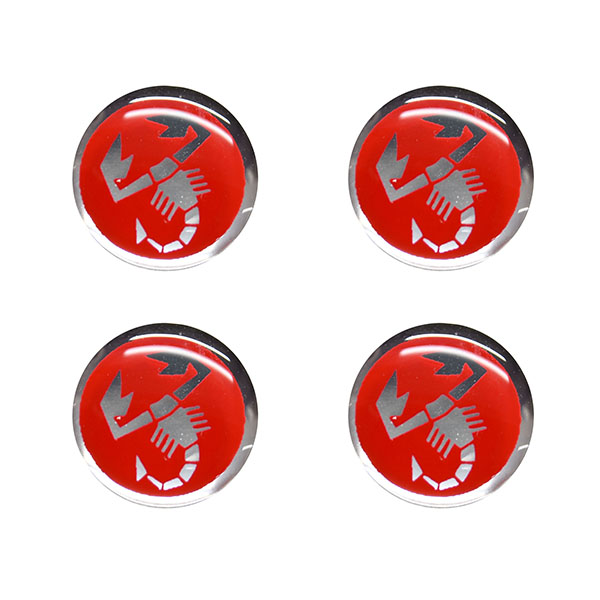 ABARTH  (Scorpion) 3D Sticker(12mm/4pcs)