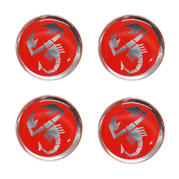 ABARTH  (Scorpion) 3D Sticker(21mm/4pcs)
